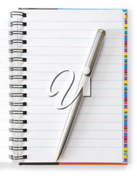 Royalty Free Photo of a Notepad