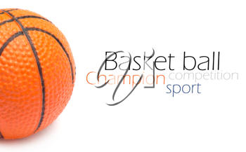 Royalty Free Photo of a Basketball