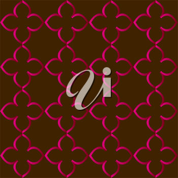 Royalty Free Clipart Image of a Patterned Background