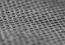 pattern on the black rubber mats