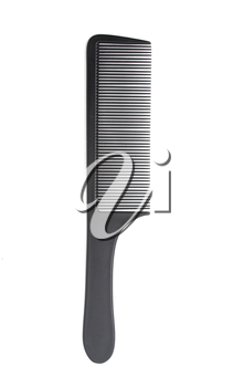 comb on a white background