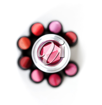 Royalty Free Photo of Tubes of Lipstick