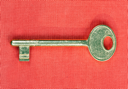Royalty Free Photo of an Old Key