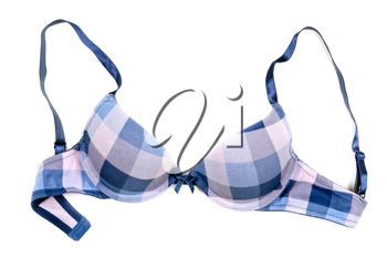 Royalty Free Photo of a Checkered Bra