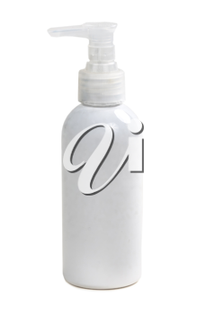 Royalty Free Photo of a Bottle of Lotion