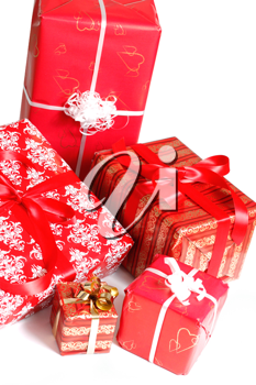 Royalty Free Photo of a Bunch of Presents