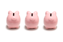 Royalty Free Photo of Piggy Banks