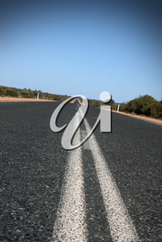 Royalty Free Photo of a Road