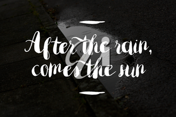 After the rain concept