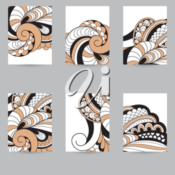 Vector Flyers  with Spirals