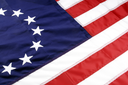 Royalty Free Photo of The Betsy Ross 1776 American Colonial Flag