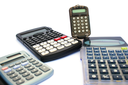 Royalty Free Photo of Calculators