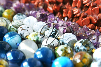 Royalty Free Photo of Natural Stone Necklaces