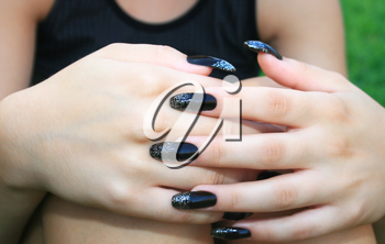 Royalty Free Photo of a Woman's Hands
