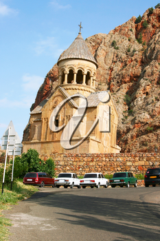 Royalty Free Photo of the Noravank Monastery in Armenia