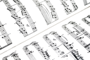 Royalty Free Photo of a Sheet of Music