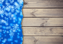 background snowflakes on a blackboard