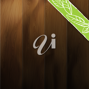 Abstract wood background. Contrast and saturation of wooden texture editable by disabling layers (marked as on/off).