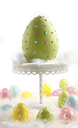 Royalty Free Photo of an Easter Egg on a Stand