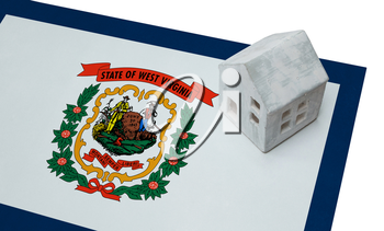 Small house on a flag - Living or migrating to West Virginia