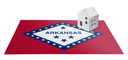 Small house on a flag - Living or migrating to Arkansas