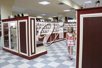 image of shoe shop with a lot of different shoes