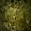 Abstract Digital Polygonal Brown Background. Abstract Triangular Pattern