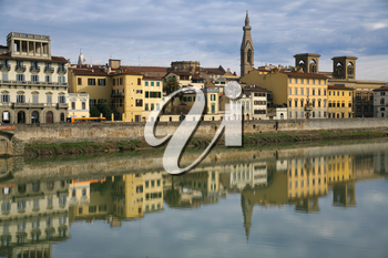 quay of River Arno in Florence