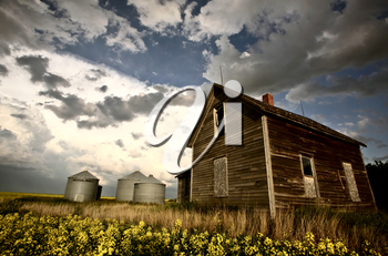 An old Saskatchewan homestead