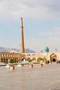blur in iran   the old square of isfahan prople garden tree heritage tourism and mosque