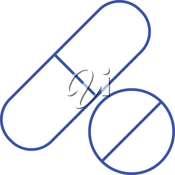 Simple thinline drugs and medicine