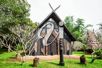 Baan Dam Museum (Black Temple) in Chiang Rai City, Thailand