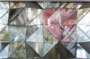 Glass wall abstract texture. Architecture art concept.