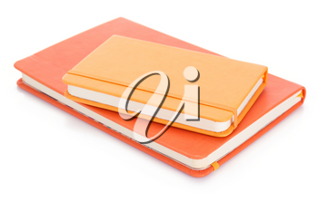 notebook isolated at white background