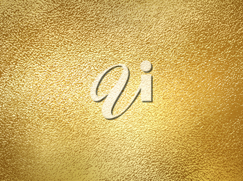 Vector golden foil background template with shine texture. For design handmade card - invitations, posters, cards.