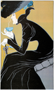 Royalty Free Clipart Image of an Old Advertisement Poster for Marco-Polo Tea