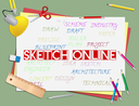 Sketch Online Meaning Internet Drawing And Design