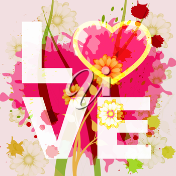 Love Heart Representing Compassion Fondness And Affection
