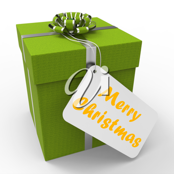 Merry Christmas Gift Meaning Xmas And Seasons Greetings