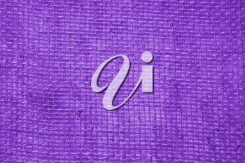 Purple linen fabric background. Textile background. Fabric texture.